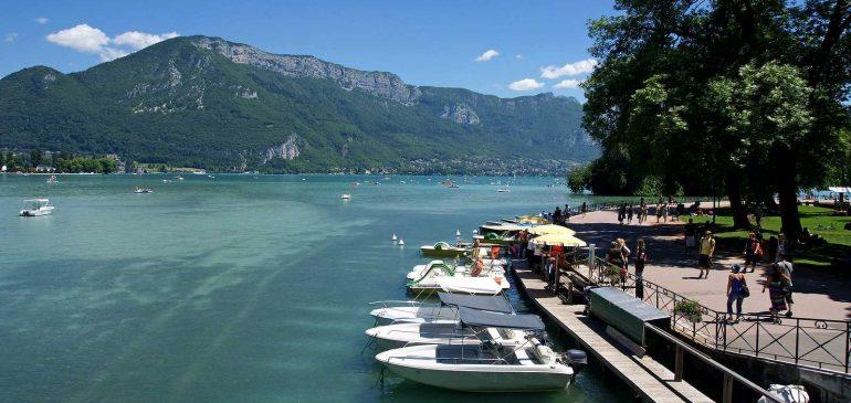 Vacances sur le lac d'Annecy