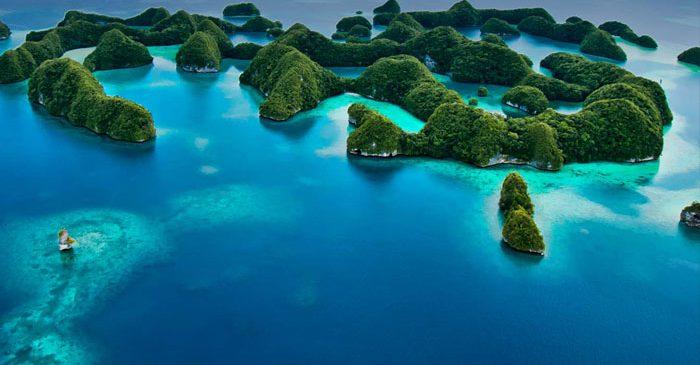 C'est parti pour Palau !
