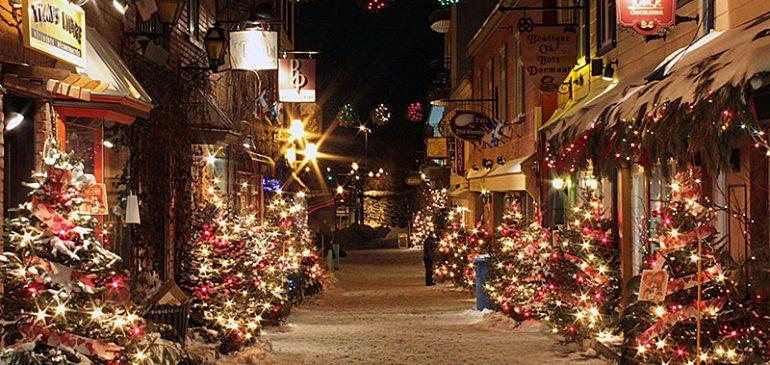 Le Canada : une destination à envisager pour passer d'agréables vacances de fin d'année