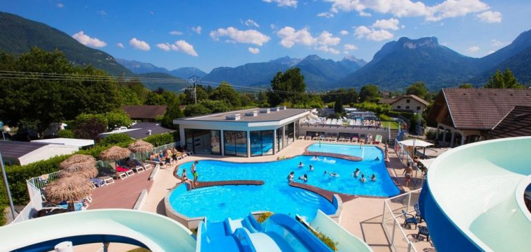 Campez à Annecy pour vos vacances
