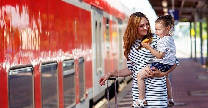 Le plein d'imagination pour un voyage en train avec enfants